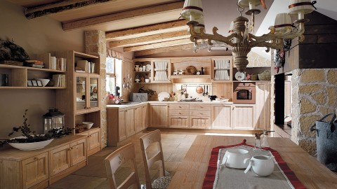 Cucine country - Cucine stile montagna ...