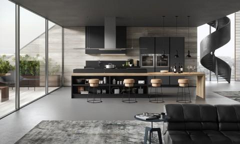Cucine moderne - Cucine moderne nere ...