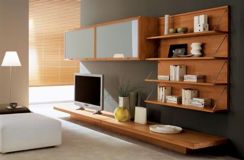 Beautiful Soggiorni Moderni Ciliegio Images - Amazing Design Ideas ...